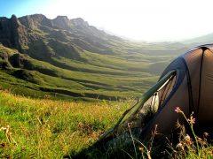 hiking tent