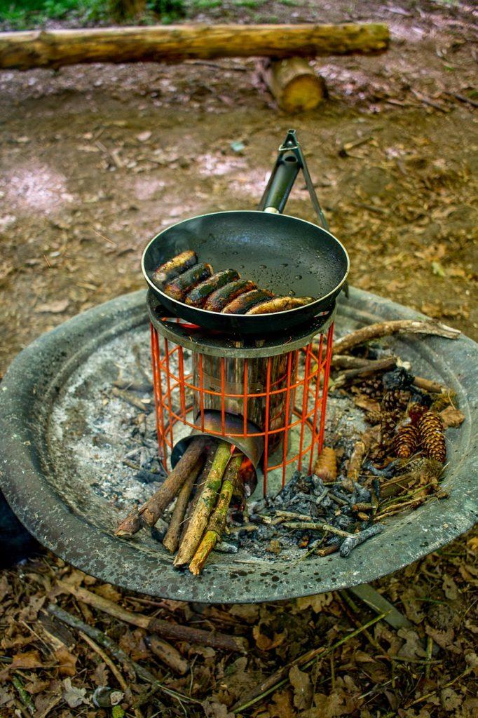 wood burining camping stove