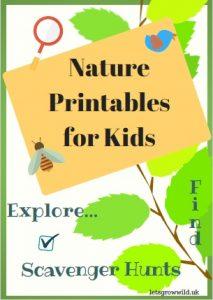 nature printable worksheets